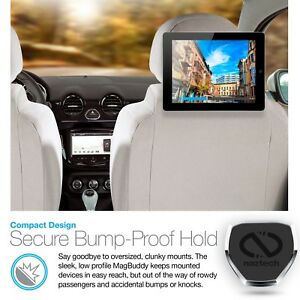 Naztech MagBuddy Universal Magnetic Headrest Phone Mount- Backseat Entertainment