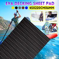 Tappeto Antiscivolo Sheet Piani Teak Eva Decking Barca Yacht Piano 45x220CM 6MM