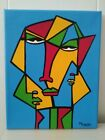 original artwork abstract/modern/contemporary acrylicpop painting on canvas