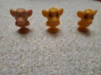 Disney Best Buddies Micro Popz Lion King Simba Lot of 3