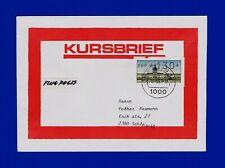 """Kursbrief BERLIN ATM-EF """"Charl. Schloß"""" Berlin 12 Postdokum. + Empfangssch. RR"""