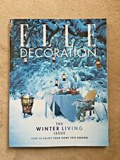 Elle Decoration JANUARY 2017 back issue No. 293 NEW Subscriber's Edition