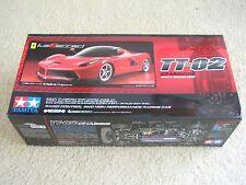 NEW Tamiya 1/10 LaFerrari TT-02 Kit 58582 4WD High Performance Racing Car