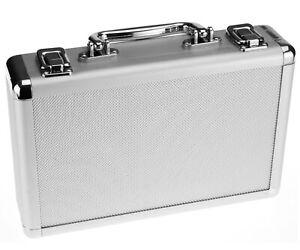 Aluminium Lagre Hard Flight Carry Case Key Camera Storage Box Briefcase Tool
