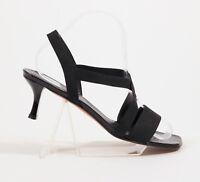 Stuart Weitzman Black Strappy Sandals US 9M
