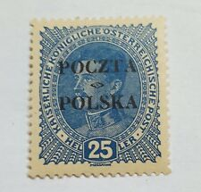 TIMBRE POLOGNE N 81 NEUF * SIGNE