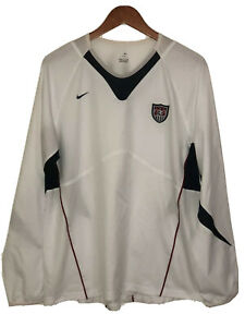 Nike USWNT Long Sleeve Vintage Soccer Jersey Womens (XL)