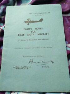 TIGER MOTH PILOTS NOTES