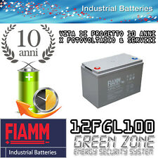 Batteria AGM ciclica 100Ah 12V eolico solare camper BAITA