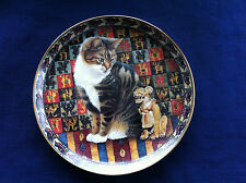 "Danbury Mint Cats Around The World ""Maltezer In Peru ""plate"