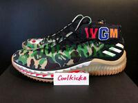 Adidas dame per bape x verde mimetico gomma ap9974 misura di scarpe