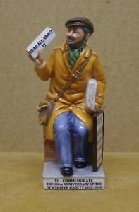 ### LIMITED EDITION ROYAL DOULTON FIGURINE - THE NEWSVENDOR HN2891 ###