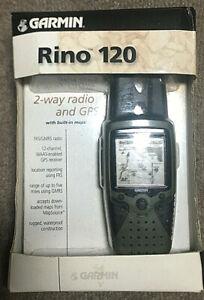Garmin Rino 120 Handheld 2 Way Radio And Gps New In Box