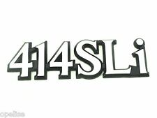 Genuine New ROVER 414 SLi BADGE Saloon 1.4 400 Saloon Hatchback Austin 414SLd