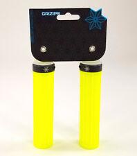 SUPACAZ GRIZIPS 32mm Lock-on Mountain Bike Grips Neon Yellow