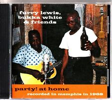 Furry Lewis, Bukka White & Friends -Party At Home: CD -Blues In Memphis 1968