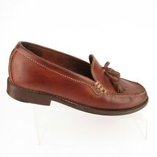 Cole Haan Country Tan Brown Sz 6B Medium Tassel Loafers Moccasin Toe Shoes F6337