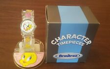 RARE VINTAGE TWEETY BIRD CHARACTER WATCH/DISPLAY/BOX NEW OLD STOCK CUTE !
