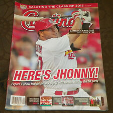St. Louis Cardinals Gameday Magazine Jhonny Peralta 2015 Issue 4