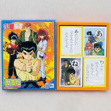 Yu Yu Hakusho Karuta Traditional Japanese playing cards Kurama Hiei Japan Anime