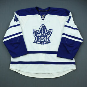 2009-10 Nikolai Kulemin Toronto Maple Leafs Game Used Worn Hockey Jersey NHL
