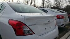 #516 PRIMERED FACTORY STYLE SPOILER - Fits The  2012 - 2018 NISSAN VERSA SEDAN