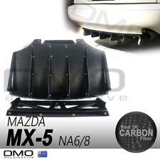 Mazda MX-5 Miata NA 89-98 OKAMI Aero J-style Rear Diffuser Quad Fin Carbon Fiber