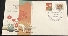 Australia fdc 1975 Wildflowers