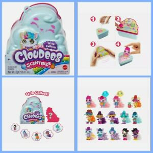 BRAND NEW SEALED CLOUDEES SCENTEEZE SURPRISE FIGURE BLIND PACK SCENTED - MATTEL