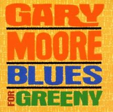 GARY MOORE BLUES FOR GREENY CD NEW