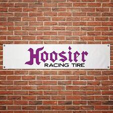 Hoosier Racing Tire Banner Garage Workshop PVC Sign Trackside Car Display Tyres