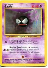 Pokemon Base Set Common Card #50/102 Gastly