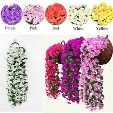 Artifical Fake Flowers Ivy Vine Plant Garland Hanging A Decoration Home Wedding