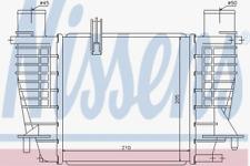 NISSENS Ladeluftkühler 96645 für NISSAN RENAULT