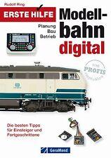Fachbuch Erste Hilfe Modellbahn Digital, Planung Bau Betrieb, neue Tipps, NEU