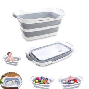 bañera plegable para bebes tina plegable de plastico multifuncional para bañar
