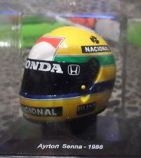 Ayrton Senna (1988) helmet collection Mini helmet Spark edition 1/5 F1
