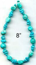 TURQUOISE Beads South Hill Mine 4-9mm BLUE Arizona USA Great Southwest