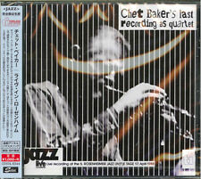 CHET BAKER QUARTET-LIVE IN ROSENHEIM-JAPAN CD B63
