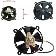 Oil Cooler Water Electric Radiator Cooling Fan Motorcycle ATV Quad Bike 165 mm