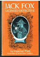 Jack Fox, Licensed Detective by Ingemar Fjell First Edition 1968 Vintage Book