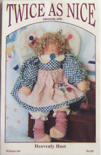 "1994 Twice As Nice Designs ""Heavenly Host"" 19-Inch Doll Pattern #185 - New!"
