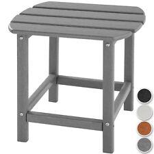 Gartentisch Beistelltisch Adirondack Balkontisch Tisch Gartenmöbel Holzoptik neu