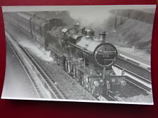 PHOTO  LMS EX MIDLAND RLY 4-4-0 CLASS 2P LOCO NO (40)549 AT OAKLEY TROUGHS 1918