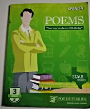 TEXAS STAAR POEMS WORKBOOK GRADE 3 (SPANISH) STAAR READING