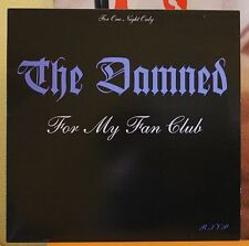"THE DAMNED ""Live at the Town and Country Club"" Vinyl LP"
