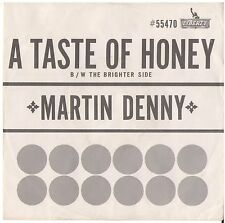 MARTIN DENNY--PICTURE SLEEVE ONLY--(TASTE OF HONEY)--PS--PIC--SLV