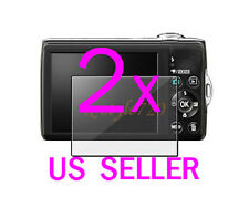 2x Nikon Coolpix S8100 Clear LCD Screen Protector Guard Film