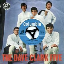 """DAVE CLARK FIVE -7"""" Over & Over (D,Columbia,1964)"""