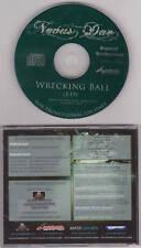 Novus Dae - Wrecking Ball - Rare Radio Promotional CD Single - 1218